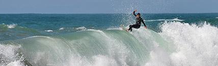 Surfer au Pays Basque
