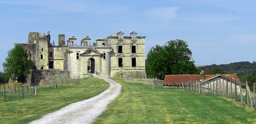 Visiter le Château de Gramont à Bidache