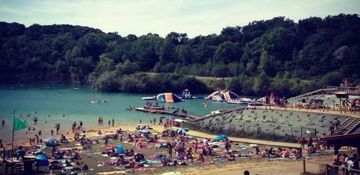 Des jeux d'eau pour enfants au Pays Basque