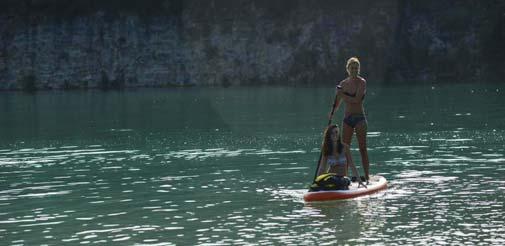 Paddle au Pays Basque