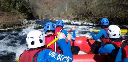 Faire du rafting au Pays Basque