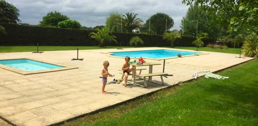 Des activités d'eau à Bayonne